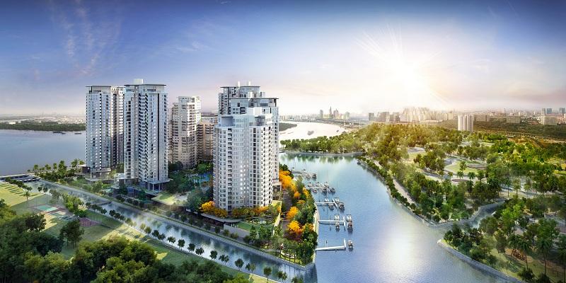 Dự án căn hộ Đảo Kim Cương